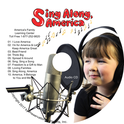 SING ALONG, AMERICA ~ Audio CD