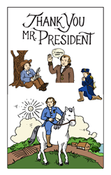 THANK YOU, MR. PRESIDENT ~ FLASH CARDS