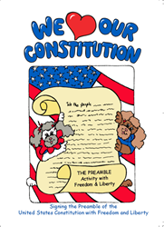 We Love Our Constitution, THE PREAMBLE ~ Activity Colorful Booklet