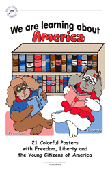 We are Learning About America ~ set of posters